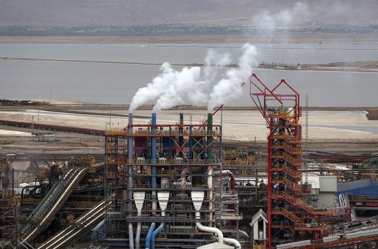 Liberación de gases de la industria
