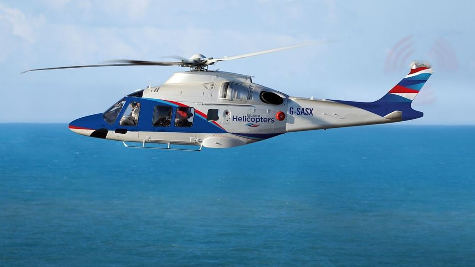 Isles of Scilly-Cornwall helicopter service 'to go ahead' after postponement