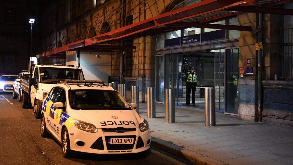محطة فيكتوريا في مانشستر أغلقت بعد حدوث الهجوم