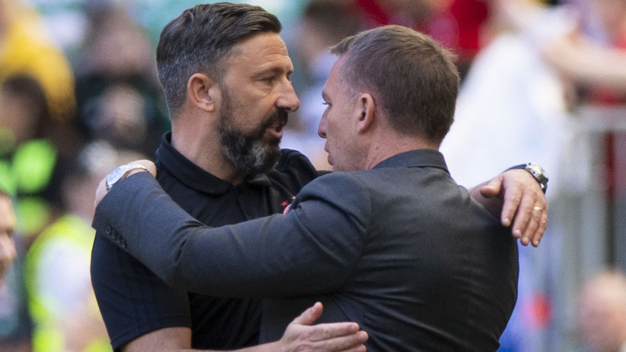 Aberdeen: Derek McInnes says Dons 'can't finish first' if Celtic 'keep doing their job'