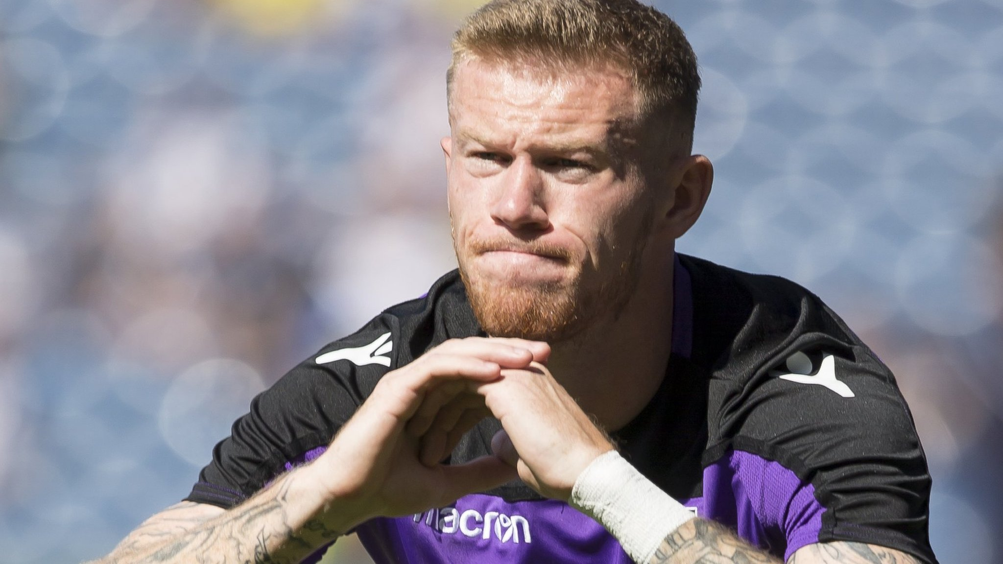 James McClean: Stoke City winger apologises to 'vast majority' of fans