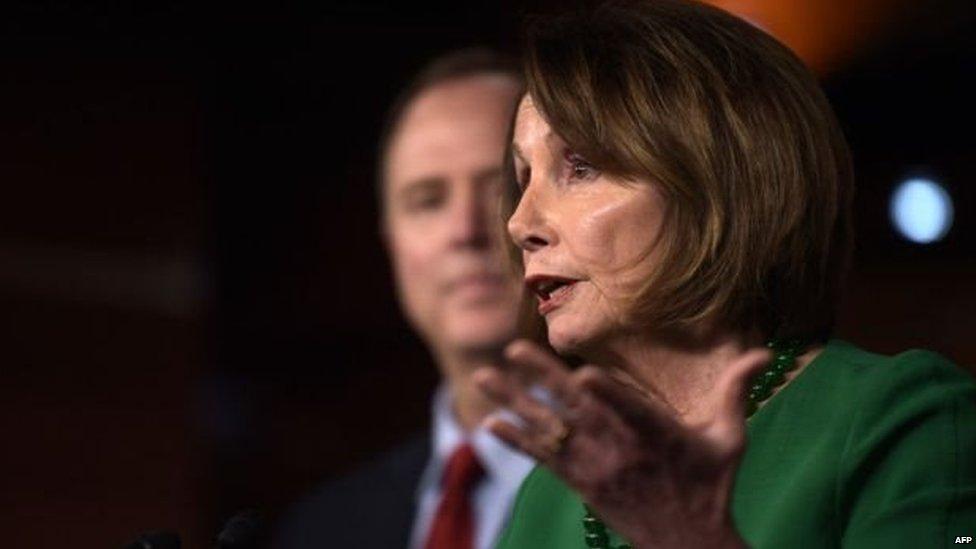 अमरीकी की प्रतिनिधि सभा की स्पीकर नैन्सी पलोसी ने छह समितियों को जांच शुरुप करने के लिए कहा है