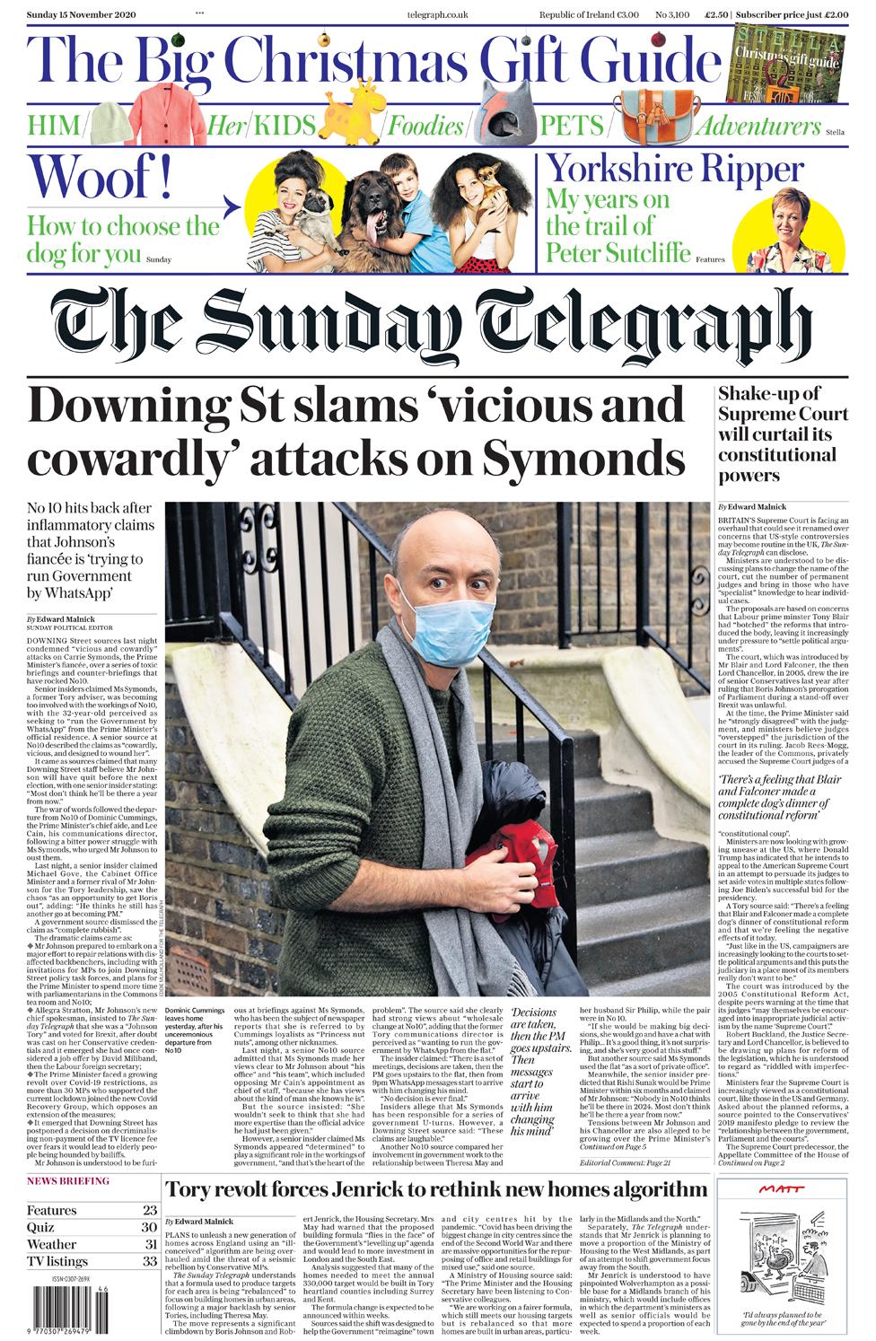 The Papers: 'No 10 slams attacks' and 'royal Netflix rage' thumbnail