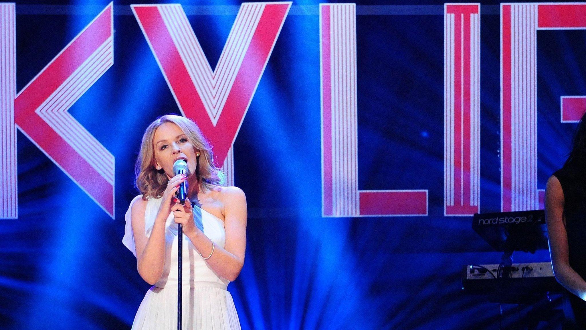 Kylie to headline Radio 2 in Hyde Park