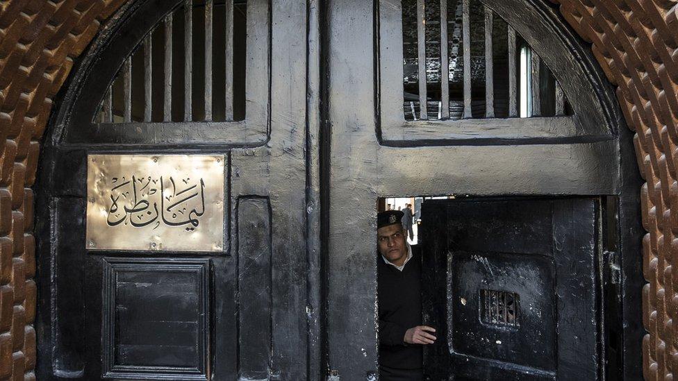 سجن طرة جنوبي القاهرة