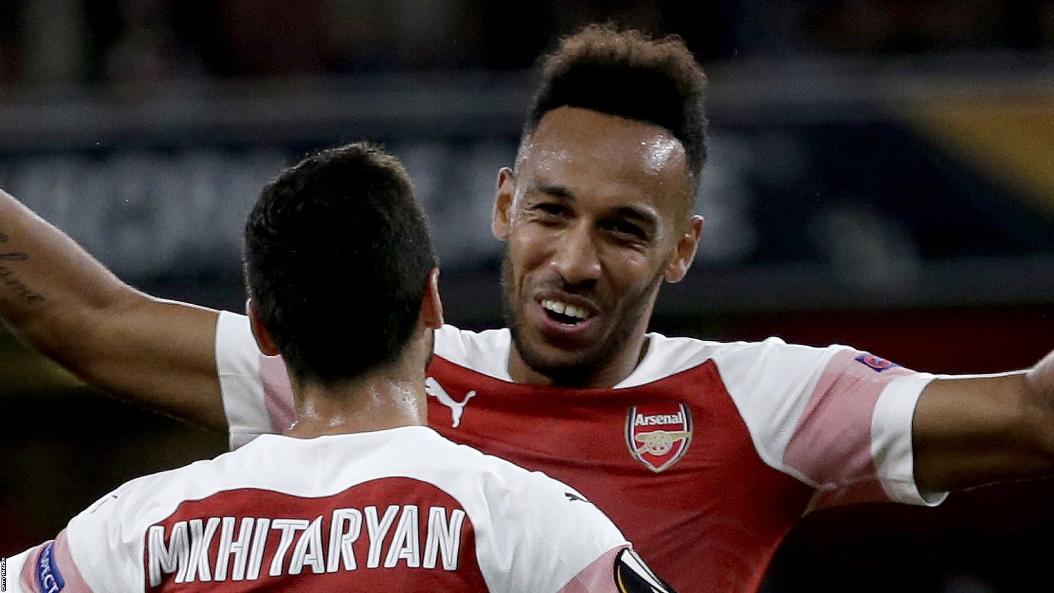 Arsenal 4-2 Vorskla Poltava: Gunners cruise to Europa League win