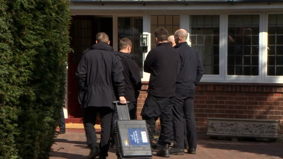 Police search in Helen Bailey's home in Royston