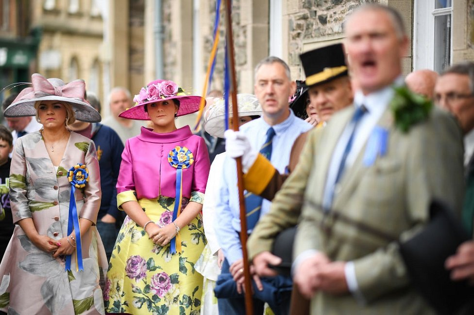 Principle ladies take part in Hawick Common Riding
