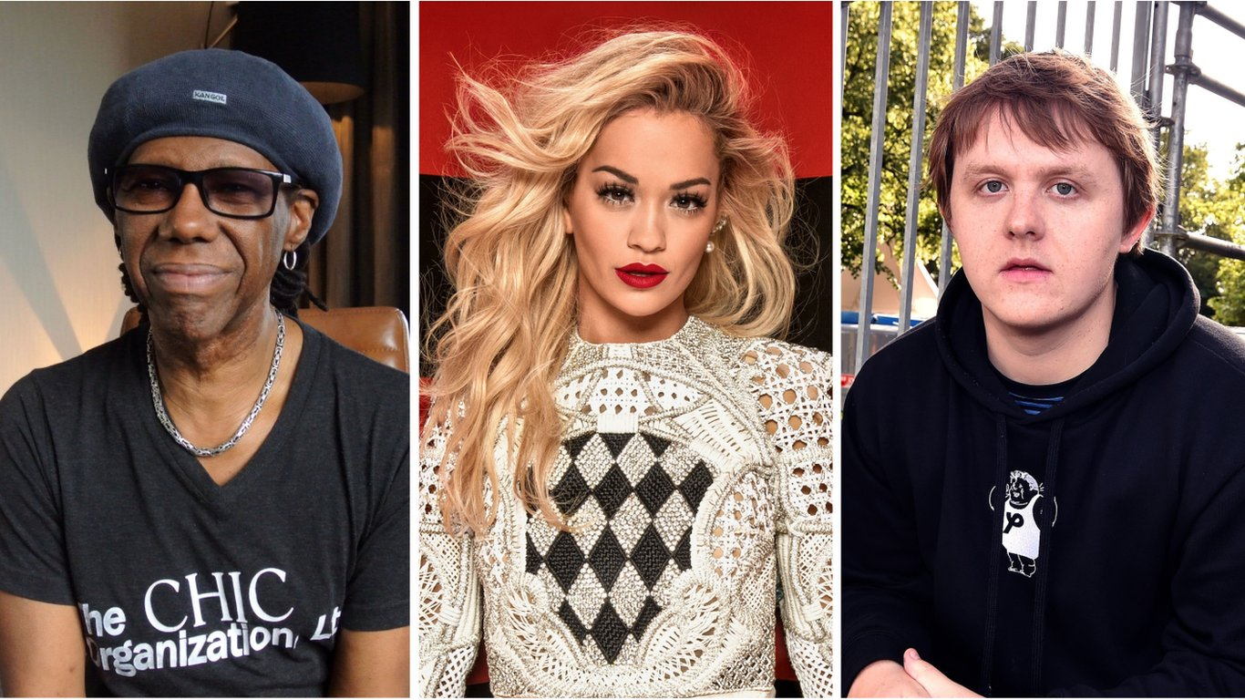 BBC News - Music stars including Lewis Capaldi and Rita Ora call for end to racism