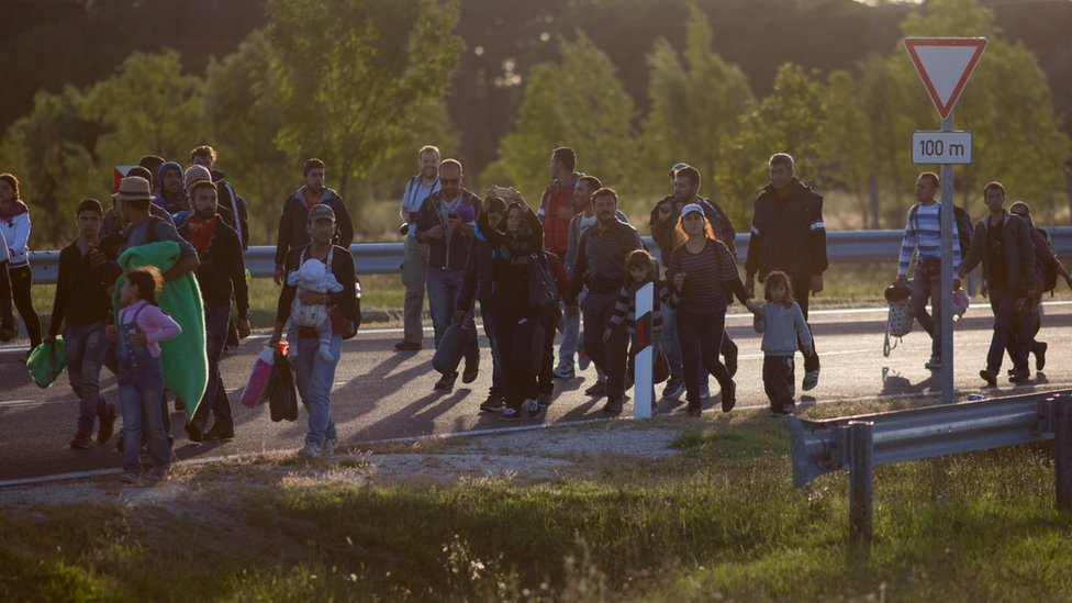 Migrants continuing to arrive in Hungary