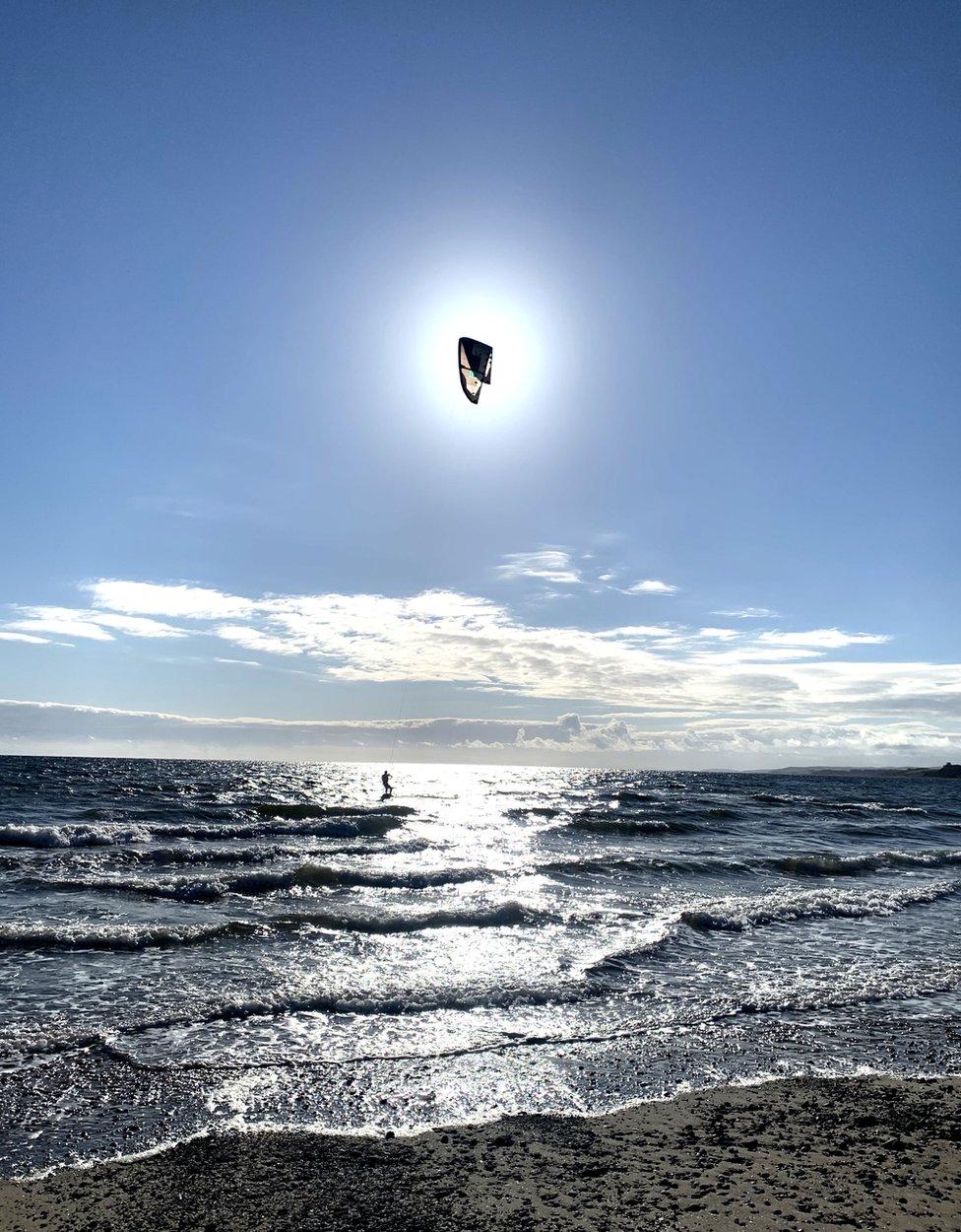Kitesurfing Sands of Luce