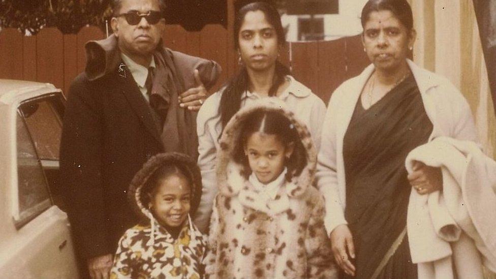 La familia Harris