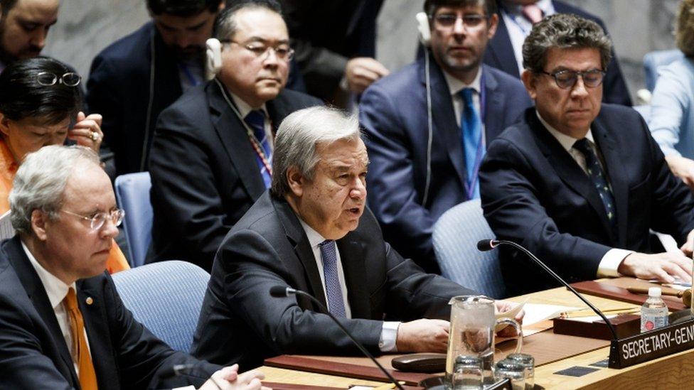 PBB, Guterres