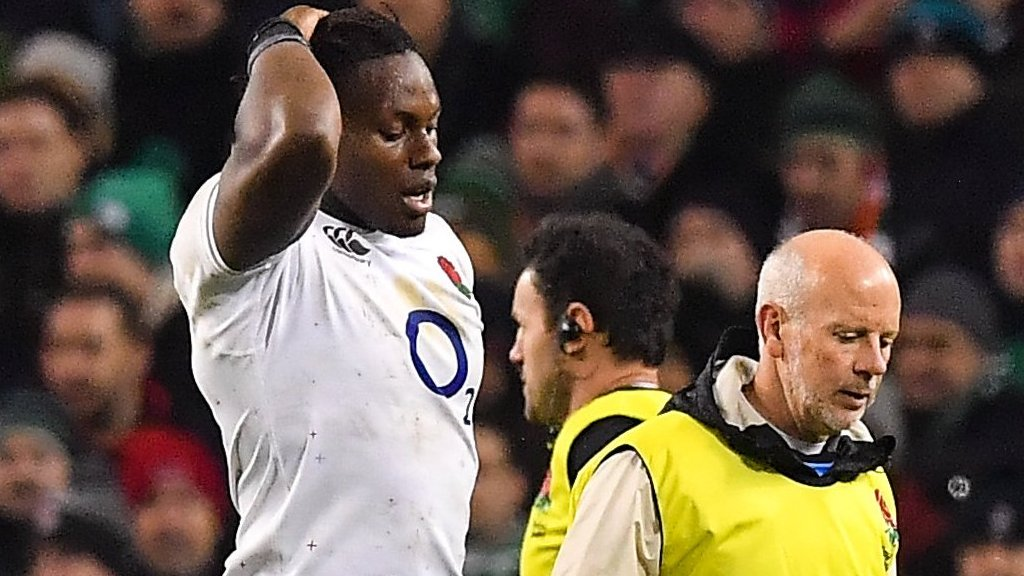 Wales v England: Maro Itoje ruled out of Six Nations showdown