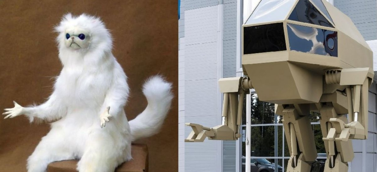 Persian Cat Room Guardian meme alongside an image of Igorek