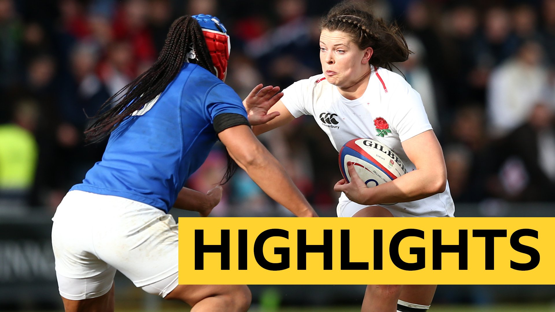 Women's Six Nations: England put seven tries past France to win Six Nations crunch match