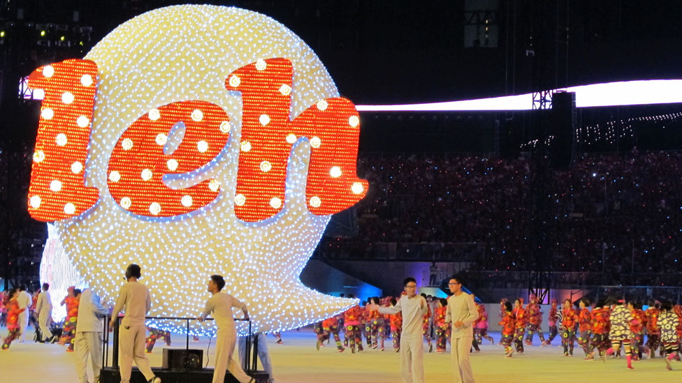 Rehearsal for national day parade, held on 1 August