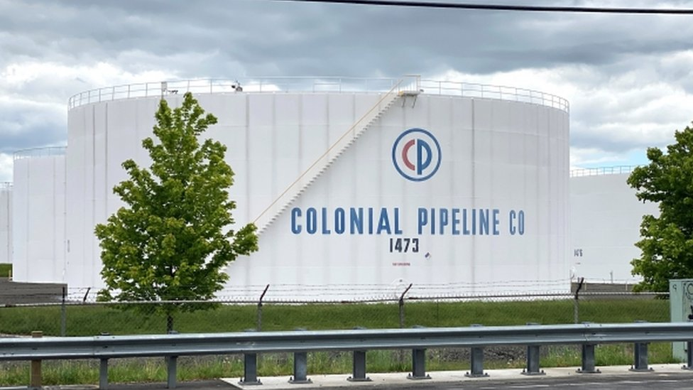 Patio de tanques del oleoducto Colonial.