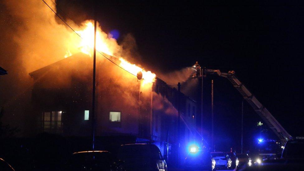 Pankhurst Avenue, Brighton, Fire