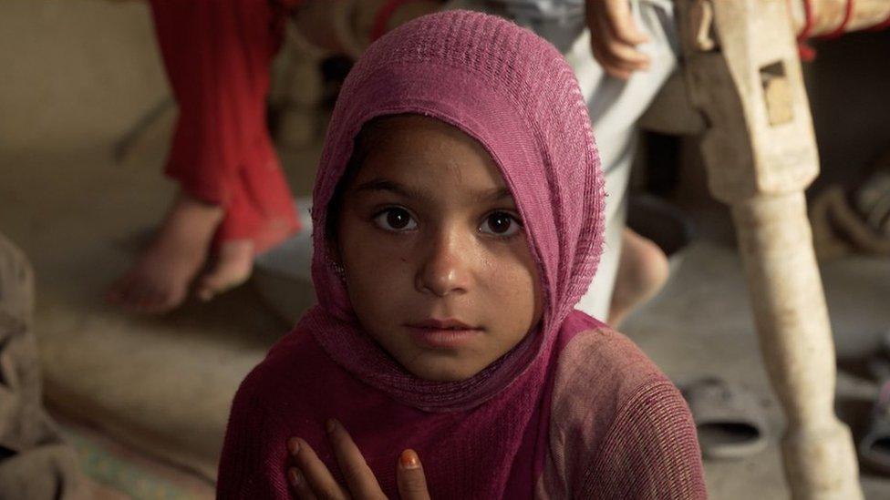 طفلة أفغانية
