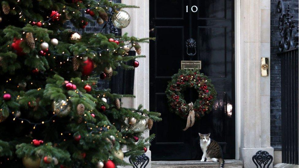 Downing Street at Christmas