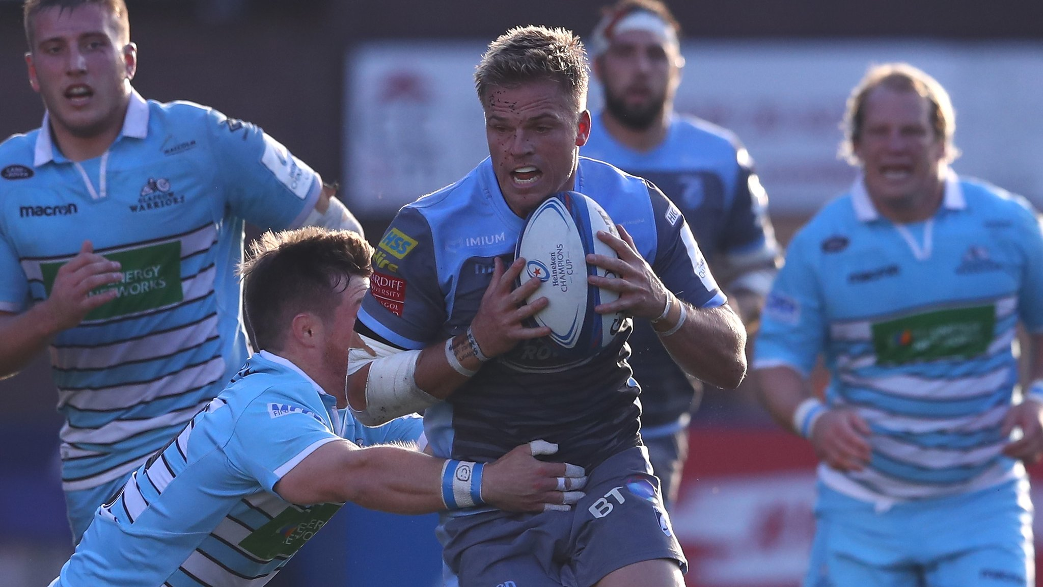 Cardiff Blues v Glasgow Warriors kit clash: Champions Cup organisers to apologise