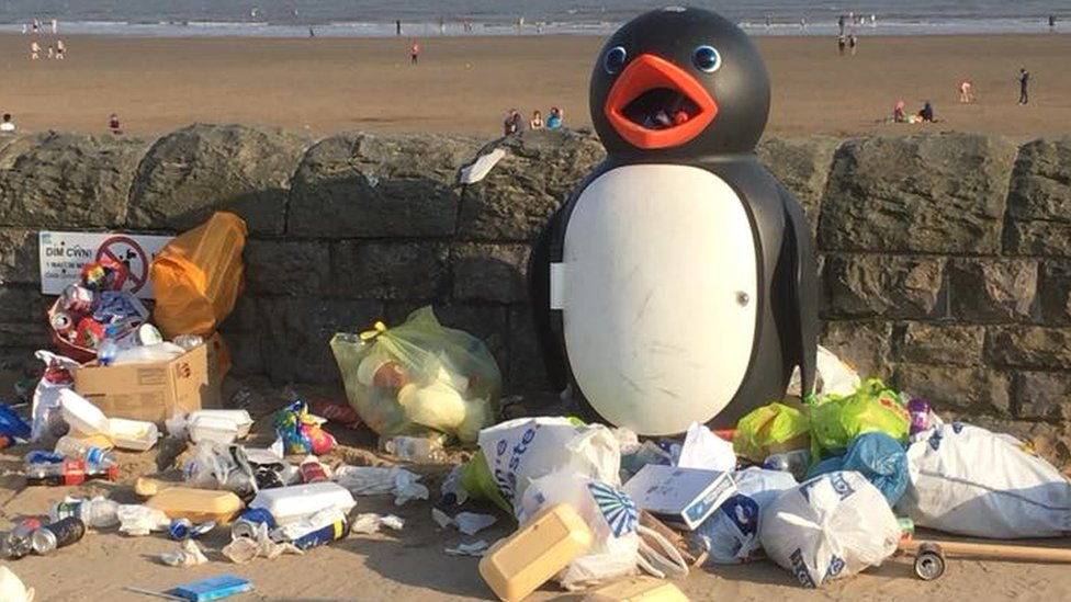 Barry Island to tackle litter problem from daytrippers