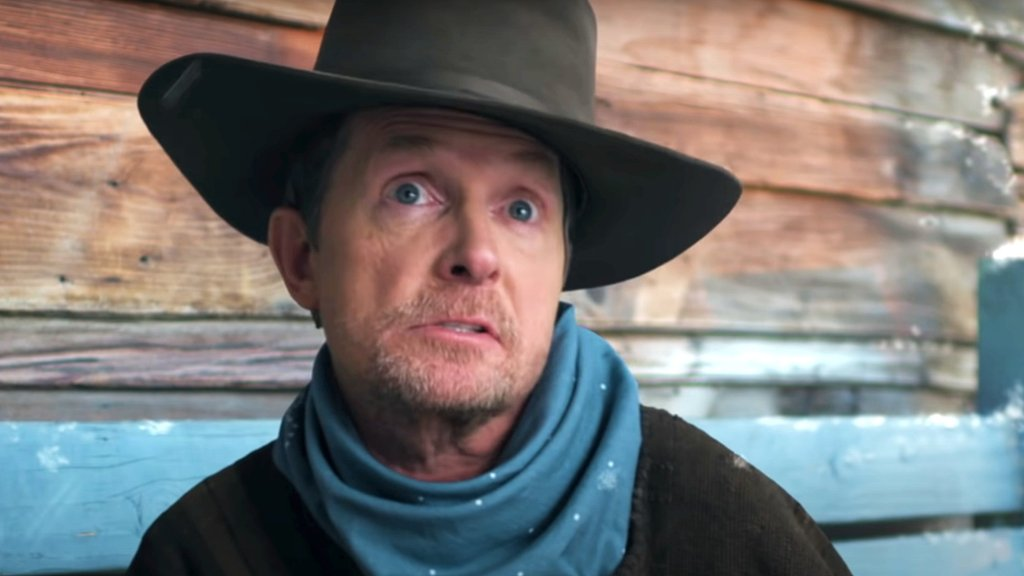 Michael J Fox in the trailer for Lil Nas X's single Holiday