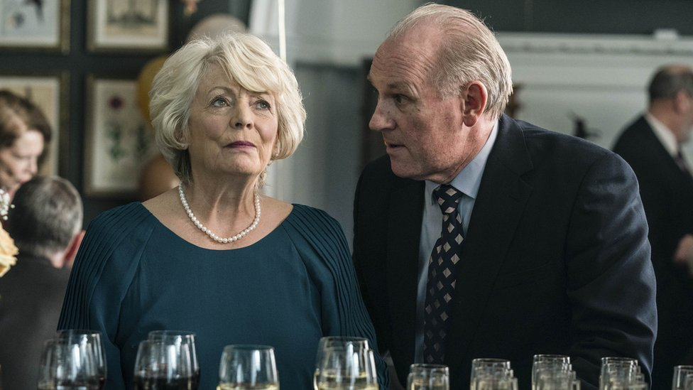 Alison Steadman as Gail and Peter Davidson as Henry