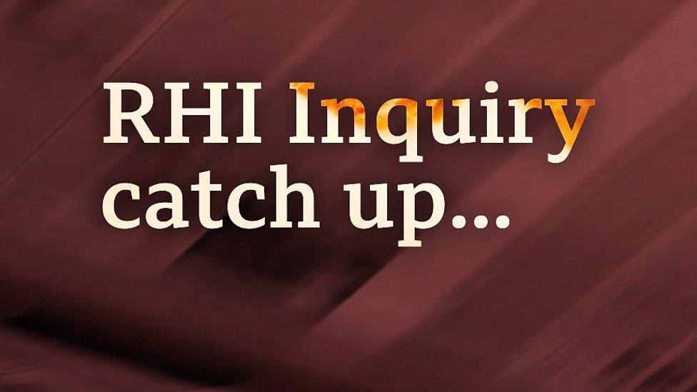 RHI inquiry catch up