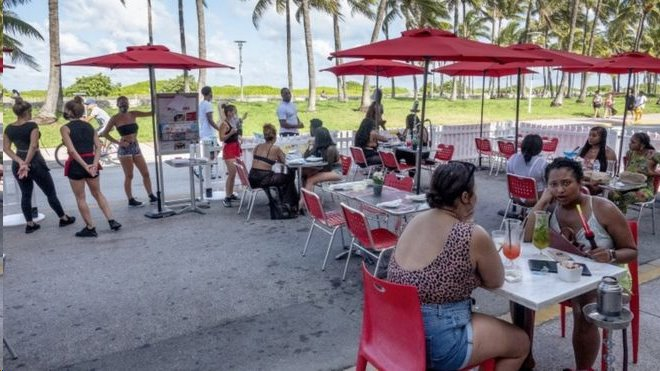 Restaurante na Flórida