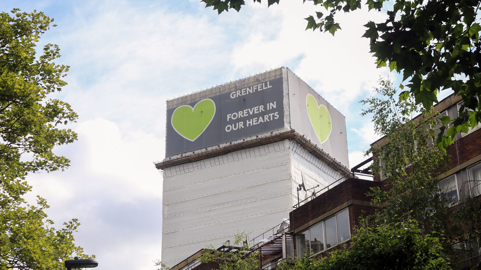 Grenfell Tower in 2019