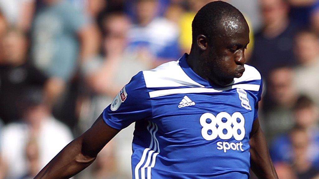Cheikh Ndoye: Birmingham City loan Senegal international back to French club Angers