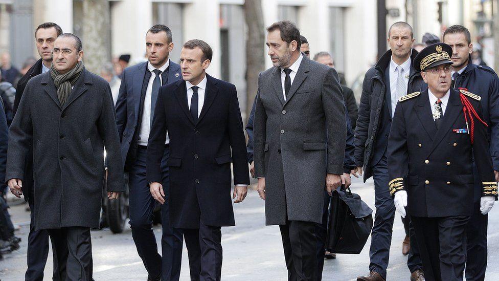 Presiden Macron