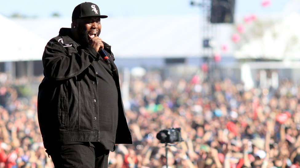BBC News - Killer Mike apologises to March For Our Lives organisers
