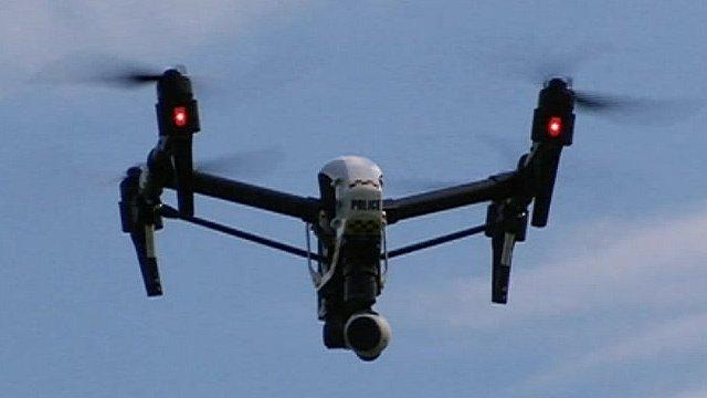 Cumbria Police drone