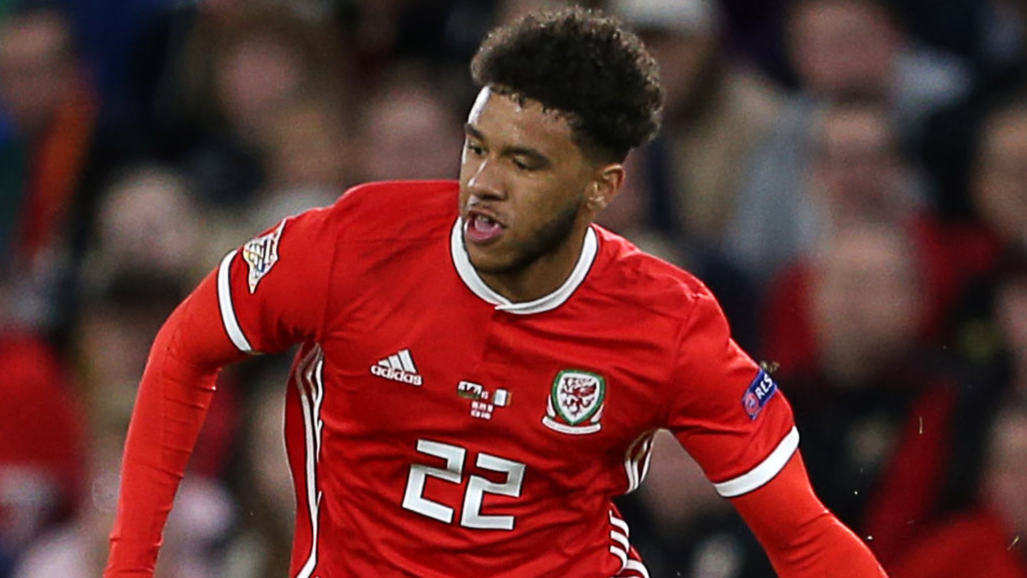 Tyler Roberts: Leeds United striker's Wales 'learning curve'