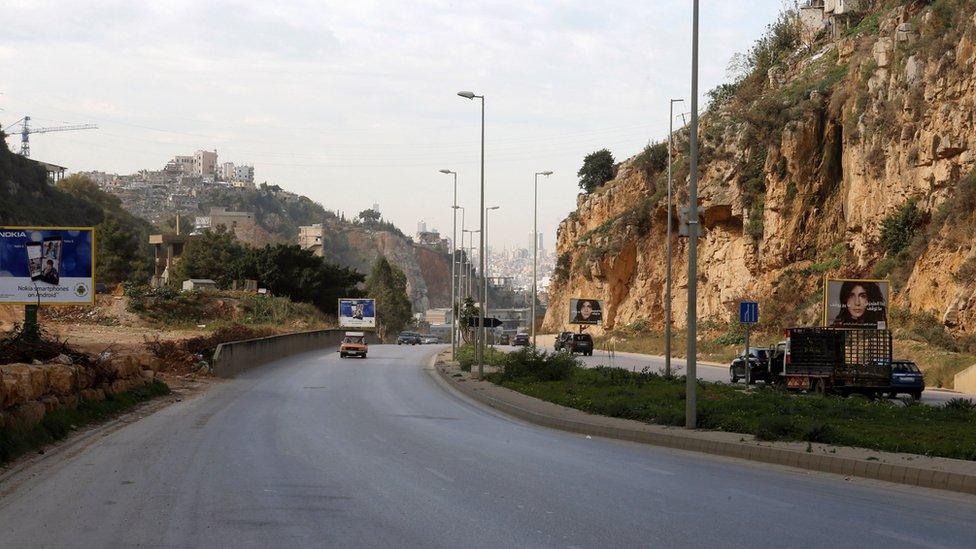 Road where Rebecca Dykes's body was found