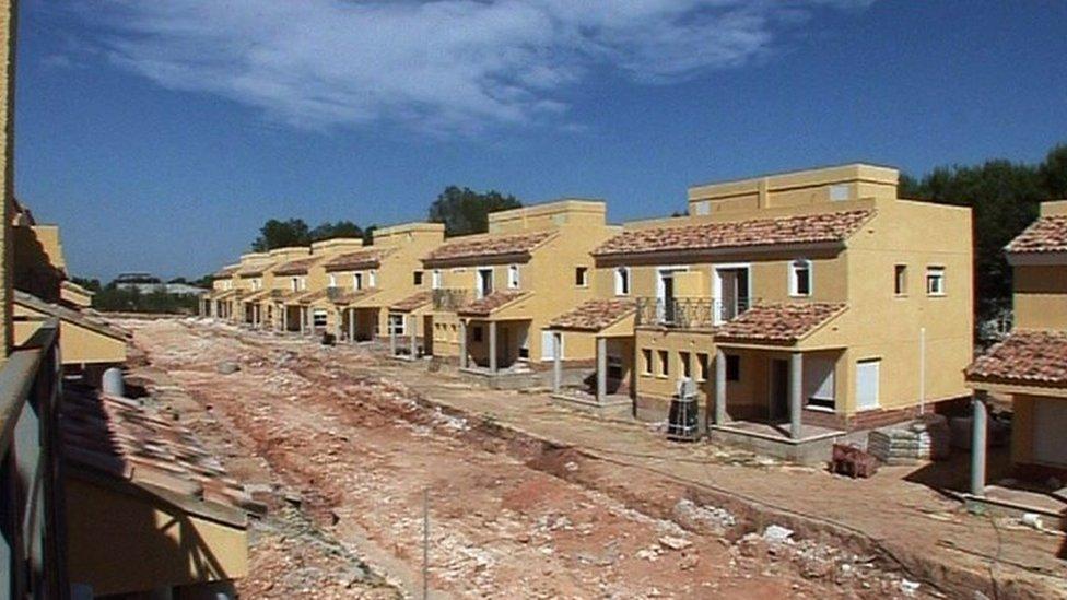 Housing development in Spain
