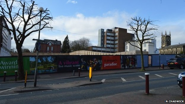 Former cinema site in Tunbridge Wells - 2015
