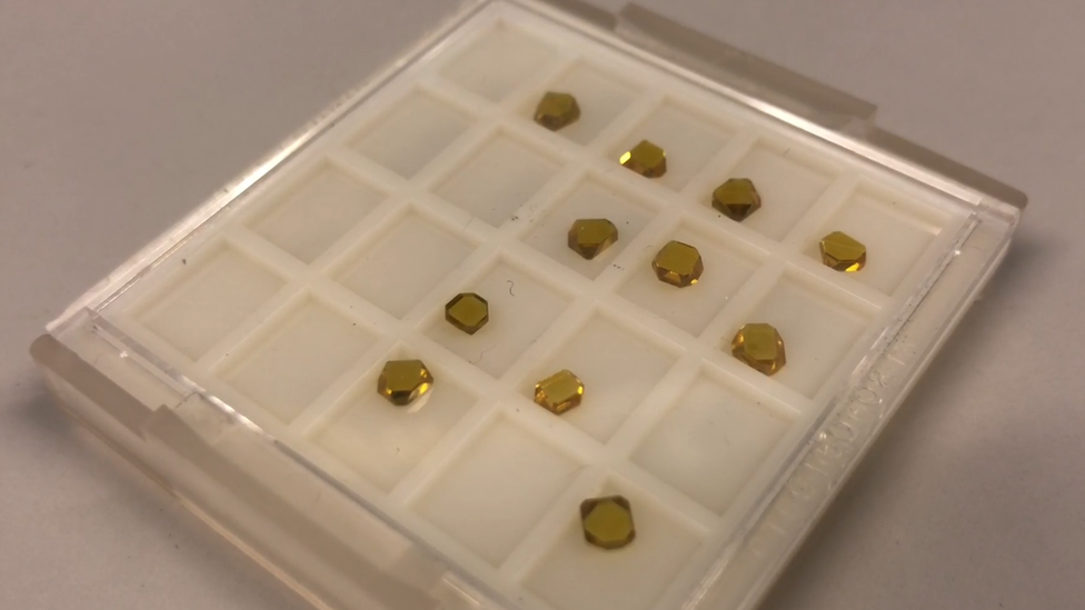 Cardiff University physicist grows synthetic diamonds in a day