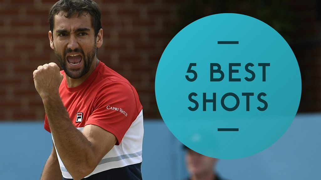 Marin Cilic sees off Nick Kyrgios - five best shots