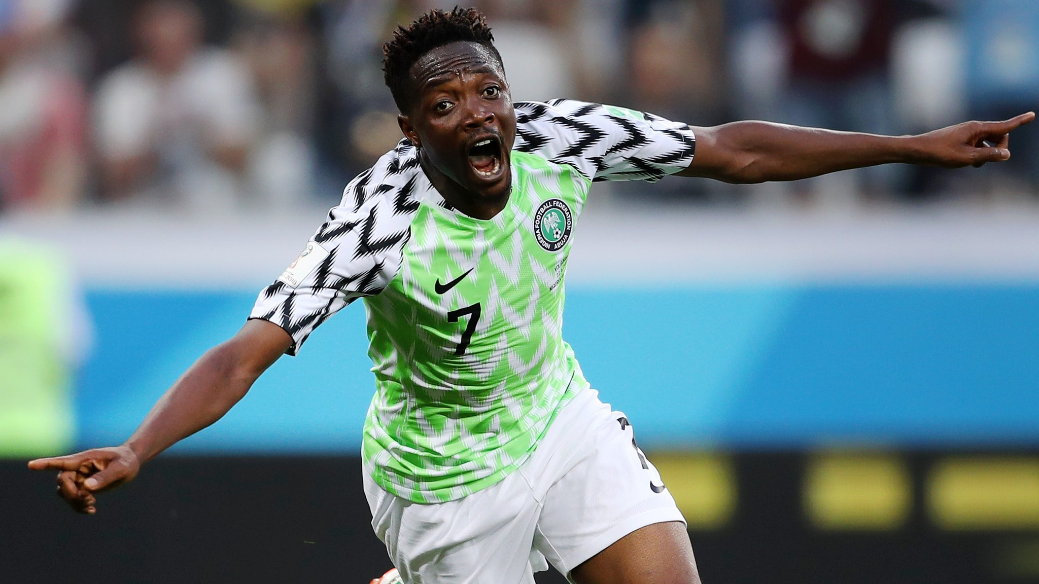 Highlights and report: Musa earns Nigeria win over Iceland - and gives Argentina hope