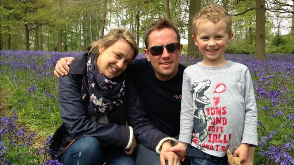 Simon Thomas sets up blood cancer fund in memory of wife Gemma