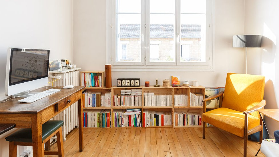 Una oficina en casa