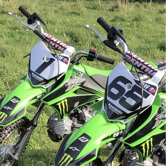 Jonathan Rea tweeted a photo of the stolen training bikes