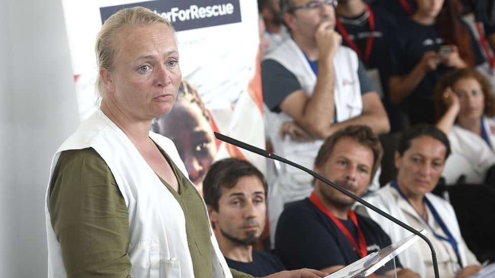 Karline Kleijer, directora de Emergencias de MSF