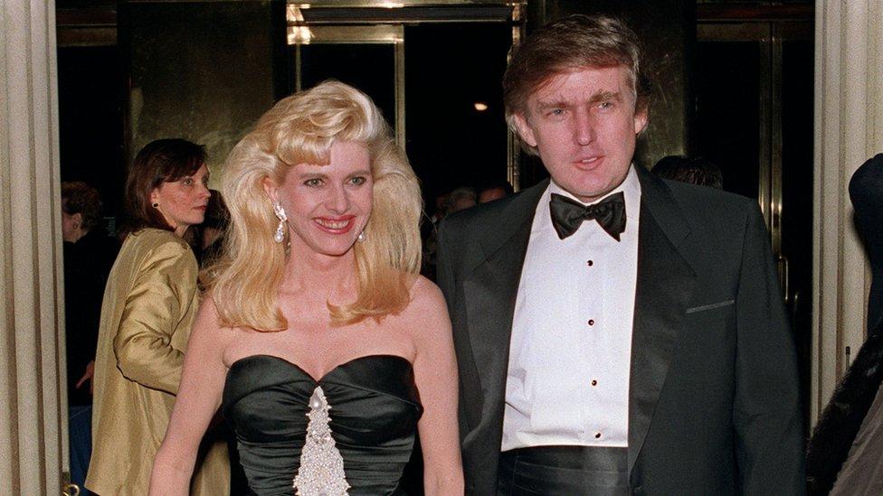 Ivana i Donald Tramp, 1989. godine