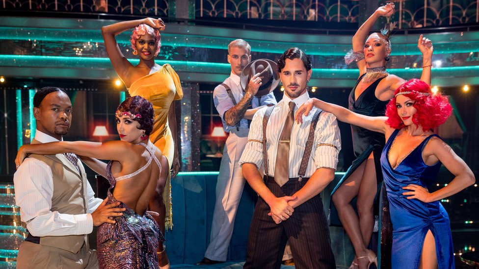 Some of Strictly's professional dancers