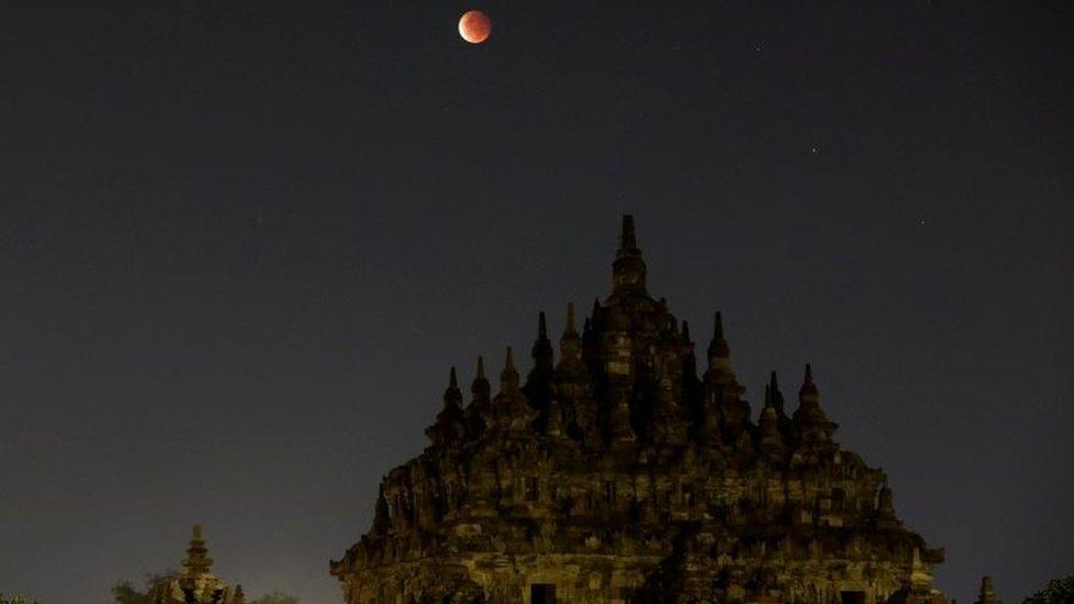 Candi Plaosan, Klaten, Jawa Tengah.